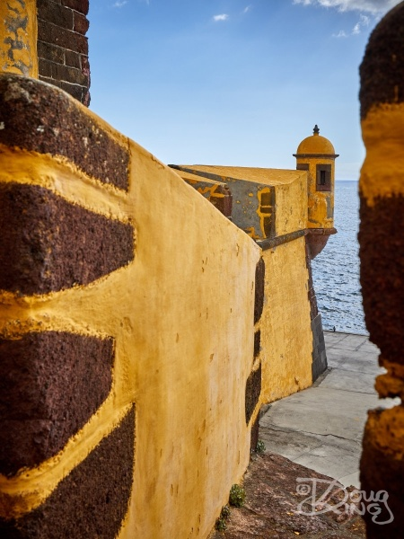 Sao Tiago Fort, the primary defence for the port city of Funchal, Madeira.     Size: 3861 x 5148, 17.5MB