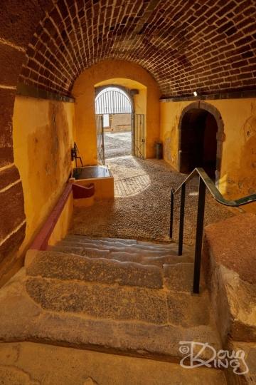 Passageway in Sao Tiago Fort, Funchal, Madeira.     Size 4198 x 6297, 28.5MB