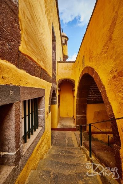 Interior of Sao Tiago Fort, Funchal, Madeira.     Size 4267 x 6400, 34.2MB