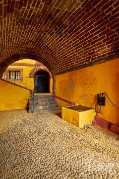 Interior of Sao Tiago Fort, Funchal, Madeira.     Size: 4327 x 6491, 35.8MB