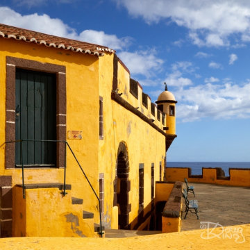 Sao Tiago Fort, the primary defence for the port city of Funchal, Madeira.     Size 4480 x 4480, 16.3MB