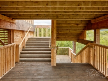 Staircase in Timber
