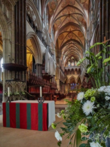 The Quire at Salisbury Cathedral