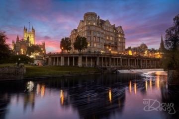 The Empire Hotel and Bath Abbey