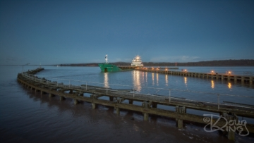 Arklow Raider arrives Sharpness Docks