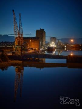 Alongside Sharpness Docks